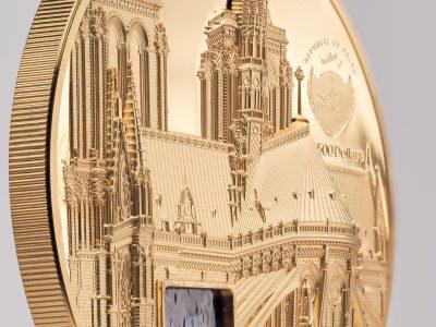 Palau - 2021 - 500 Dollars - Tiffany Art Metropolis – Paris 5oz GOLD