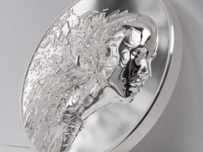 Cook Islands - 2021 - 20 Dollars - Silver Burst
