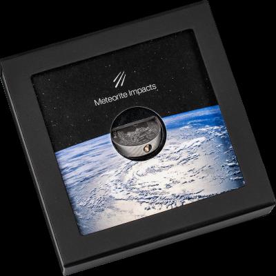 Cook Islands - 2021 - 5 Dollars - La Ciénega Meteorite
