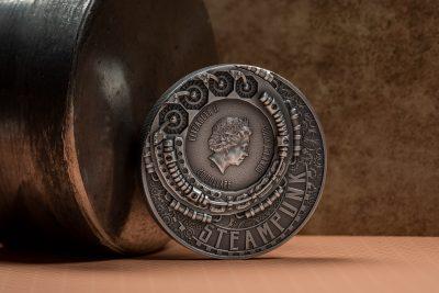 Cook Islands - 2021 - 20 Dollars - Steampunk Jet Pack