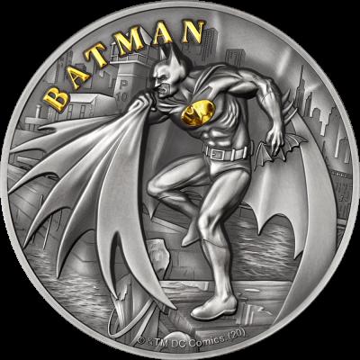 Cook Islands - 2021 - 10 Dollars - Batman