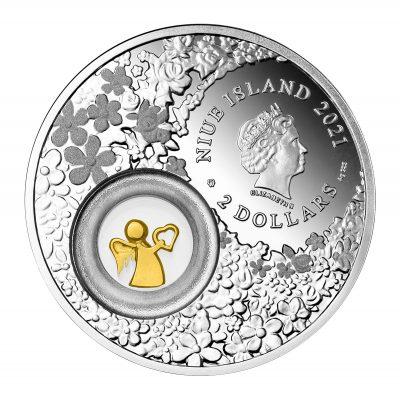 Niue - 2021 - 2 Dollars - Guardian Angel