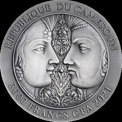 Republic of Cameroon - 2021 - 3000 Francs CFA - Kama Sutra III