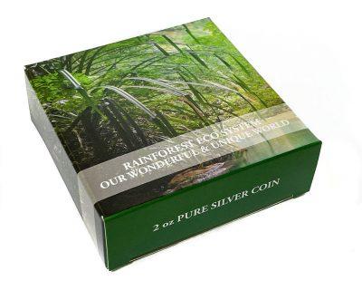 Palau - 2021 - 10 Dollars - Rainforest Ecosystems / Our Wonderful Earth