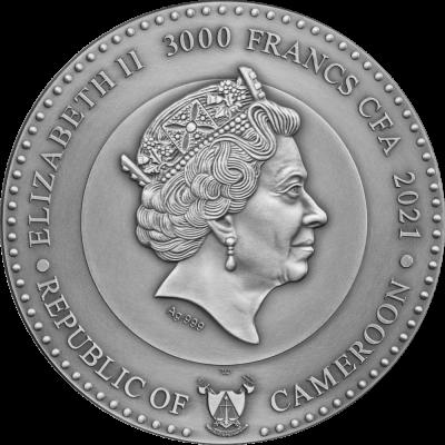 Republic of Cameroon - 2021 - 3000 Francs CFA - Jupiter