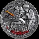 Republic of Cameroon - 2021 - 500 Francs CFA - Spartan Hoplite
