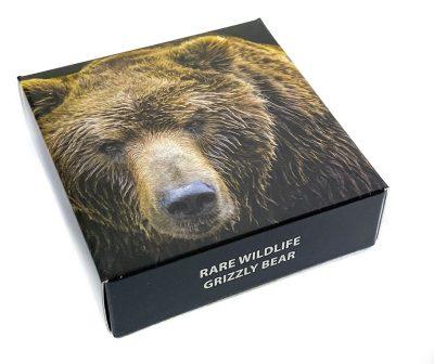 Tanzania - 2020 - 1500 Shillings - Rare Wildlife AMERICAN GRIZZLY BEAR