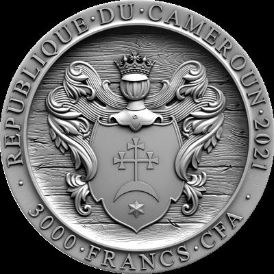 Republic of Cameroon - 2021 - 3000 Francs CFA - Zaporozhian