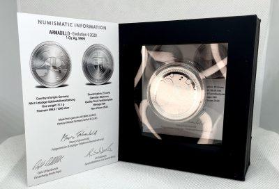 Armadillo 2020 1 oz Silver Proof Round - Evolution Series 2