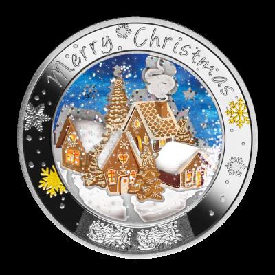 Niue - 2021 - 1 Dollar - Merry Christmas!