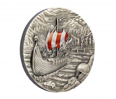 Palau - 2021 - 10 Dollars - The Vikings