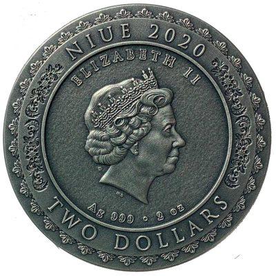 Niue - 2020 - 2 Dollars - Nyai Roro Kidul