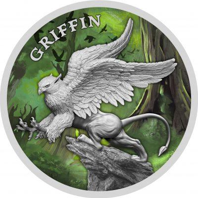 Niue - 2 Dollars - 2021 - Griffin