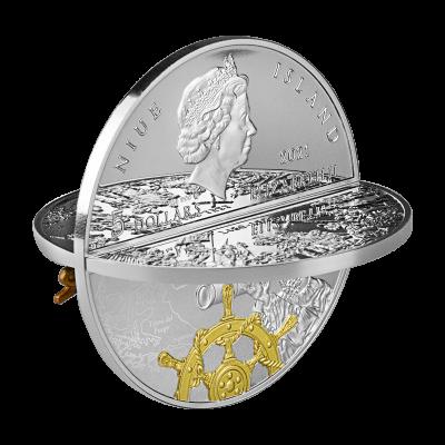 Niue - 2021 - 5 Dollars - Ferdinand Magellan 3D