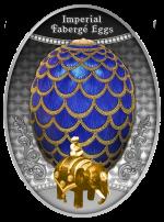 Niue - 2021 - 1 Dollar - Pinecone egg