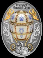 Niue - 2021 - 1 Dollar - Twelve Panel Egg