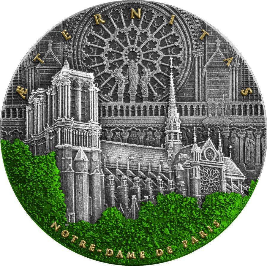 Niue - 2021 - 5 Dollars - Notre Dame De Paris